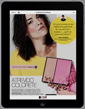 App de cátalogos de perfumería y cosmética